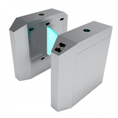 گیت کنترل تردد شیشهای کناری مدل T-55003